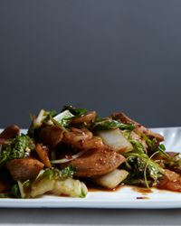 Stir-Fried Chicken with Chinese Cabbage Recipe on Food & Wine