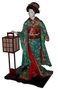 Japanese antique doll, 1920's