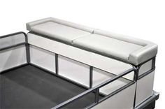 Add a sun deck to the rear of pontoon over LOUD engine!