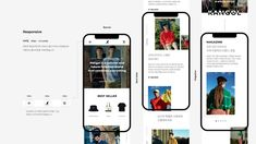 Kimeunhye's web portfolio – UI/UX Ux Design Portfolio, Architecture Portfolio Layout, Design Ios, Mobile Ui Design, Interface Design, Layout Design, Web Design Awards, Web Design Trends, Simon Walker