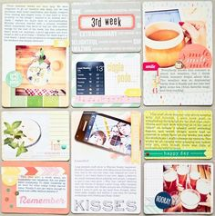 scrapbooking project life