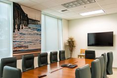 Make A Visual Impact With Photograph Prints & Branding Graphics on Fabric. Transform any space in your environment with a Fabric Photographic Mural. Whether you need a full-wall scenic landscape in your conference room or a custom printed fabric panel, Fabricmate has a solution that provides more than just a great looking fabric graphic. Our Fabric Graphic Systems can be backed to provide acoustic performance, transforming your fabric wall art into a sound absorbing acoustic wall system.