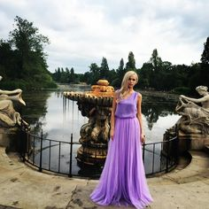 "MISTYME on Instagram: ""#London #Love #Dresses one of the kind. #Lavender colour always #unique Available @mistymecom #Mistyme #mystery #eveningwear #creative #designers #bonnierouge #stylelondon #dressoftheday #model @viktorijaje #photoshoot @edgarkatkov #makeupartistlondon @lanamakeup #thisperfectteam #talented #mua """