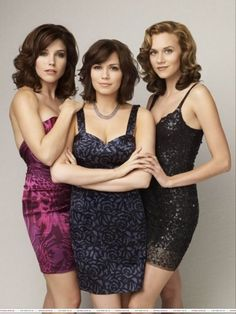 Brooke, Haley & Peyton from One Tree Hill