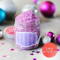 Hey Gorgeous - Holiday Happy Mistle Toe Foot Scrub Bliss