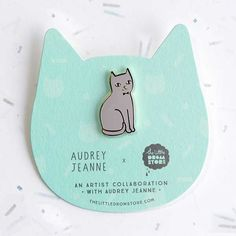 Image of Audrey Jeanne – Grey Cat *NEW*