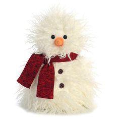 Fuzzy Snowman 9.5in
