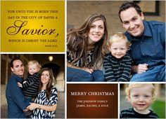 Savior Is Born 5x7 Photo Card by Shutterfly   Shutterfly