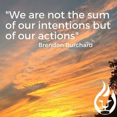 I have no doubt that you have great intentions. Unfortunately, you are not a reflection of your intentions. You are a reflection of your actions. What one action will you take today to move towards your goals?  #motivation #goals #progress #progressnotperfection #primalpotential #quotes