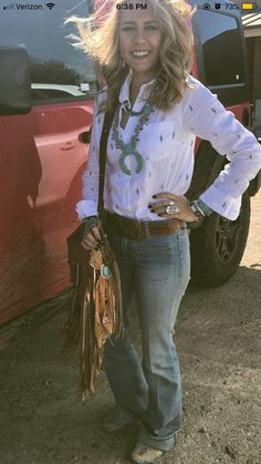 No to the bag Cowgirl Outfits, Cowgirl Style, Western Outfits, Chic Outfits, Fashion Outfits, Cowgirl Clothing, Gypsy Cowgirl, Cowgirl Fashion, Cowboy Chic