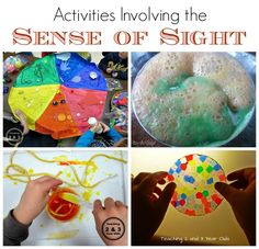 Kids Activities Using the sense of sight