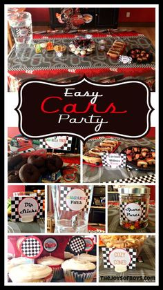 Easy Disney Cars Party - We loved receiving a fun box of party supplies to host our Cars #DisneySide Celebration