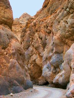 Titus Canyon, Death Valley National Park.