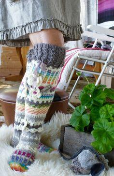 Crochet Socks, Knitting Socks, Hand Knitting, Wool Socks, My Socks, Thigh High Socks, Knee Socks, Thick Socks, Sock Shoes