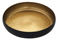 So glamorous, the hammered-gold effect of this bowl will cast the objects you display in it in a luxurious golden glow. Priced at £12.