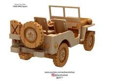 Jeep Willys & Trailer Plan set – AOBi Workshop