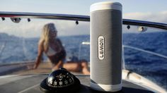 LEMON is the First Wireless Speaker combining the Most Unique 3D Sound with Voice Recognition, Solar Powered, Power Bank, Waterproof…