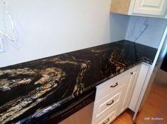 Black Cosmic – Madison WI Granite Benchtop, Cosmic, Counter, Bedroom, Black, Black People, Bedrooms, Dorm Room, Dorm