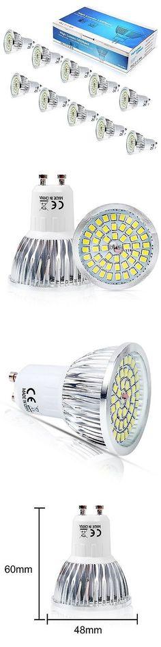 Light Bulbs 20706: Elinkume 110V Gu10 Led Light Bulb 6W Cool White 6500K Led Lamp Beam Angle 120... -> BUY IT NOW ONLY: $300 on eBay!