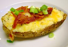 Guest Recipe - Twice Baked Potatoes by In the Kitchen with Kath