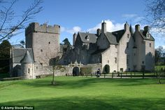 Drum Castle, one of Scotland's oldest tower houses, saw a visitor increase of nearly 50 per cent in 2015