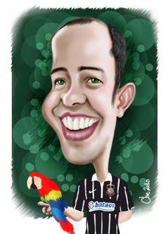 Caricatura de Cheversson Chagas 5