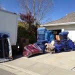 loading the stuff.