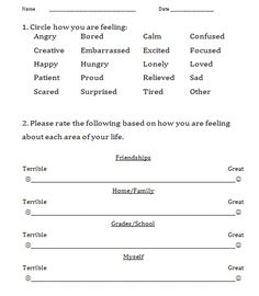 School Counseling Organization Child Study Form With Rti