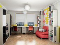Выбираем письменный стол для двоих детей   http://www.babyroomblog.ru/