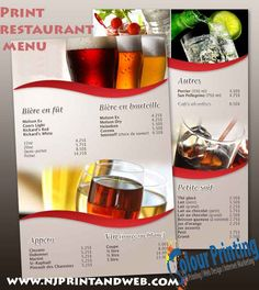 Give your #Restaurant #Menu a fresh look with professionally printed menus from U.S. http://www.njprintandweb.com/printing/print-restaurant-menu/