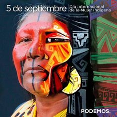 Crónicas de la Tierra sin Mal : 5 de Septiembre – Día Internacional de la Mujer Indígena International Day, Deadpool, Superhero, Movie Posters, Fictional Characters, Woman, Deco, Design, Graphic Art