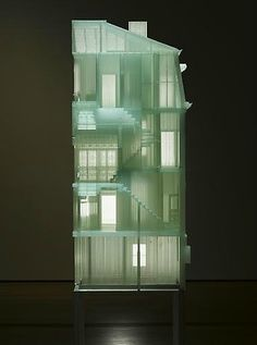 """Home Within Home"" by Doh Ho Suh, 2009-2011. #InstllationArt"