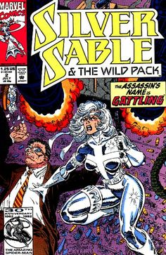Silver Sable and the Wild Pack # 2 by Steven Butler & Dan Panosian
