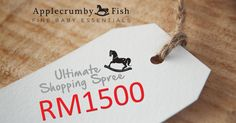 RM1,500 Ultimate Shopping Spree! http://blog.applecrumbyandfish.com/giveaways/rm1500-ultimate-shopping-spree/?lucky=2591