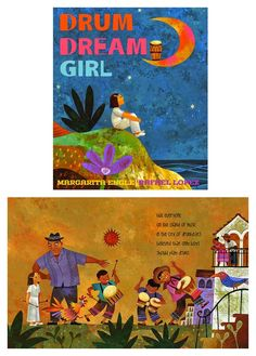 Empowering books for girls: Drum Dream Girl by Margarita Engle and illustrated by Rafael López