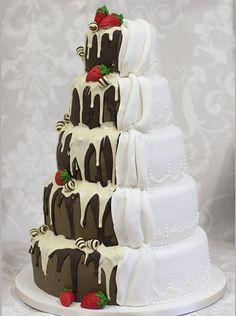 #Chocolate Reveal Design #Cake