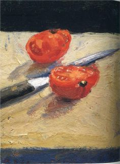 Richard Diebenkorn (American, 1922-1993) - Tomato and Knife