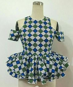 Peplum Ankara Styles Top : Simple Style For You .Peplum Ankara Styles Top : Simple Style For You African Blouses, African Tops, African Dresses For Women, African Print Dresses, African Print Fashion, Africa Fashion, African Attire, African Wear, African Fashion Dresses