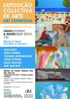 exposição collectiva de arte