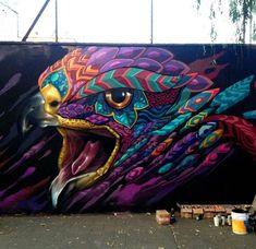 New Farid Rueda Street Art Mexico City