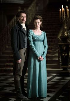 Darcy and Lizzie | Death Comes to Pemberley
