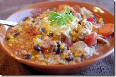 I love this blog, and this recipe. Taco soup in the rice cooker! So easy and good. The kids love it to :)