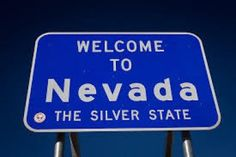 """The nickname for Nevada is """"The Silver State"""", dating from the Nevada silver rush days of the mid 1800's. Silver was the primary mineral mined in Nevada when it was admitted to the union in 1864. Nevada produced about 30% of all the silver mined in the United States in 1999. Nevada license plates began to carry the legend, """"The Silver State,"""" in the early 1980s. The name """"Nevada"""" comes from the Spanish nevada, meaning """"snow-covered"""" after the Sierra Nevada (""""snow-covered mountain range"""")."""