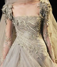 Definitely not so much this but it would be cool to have a really wymsical looking wedding dress