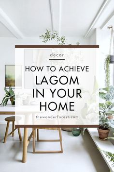 You may have heard about hygge, which is a concept that prioritizes well-being and comfort above all else. home inspiration Lagom in Your Home: The Scandinavian Decor Trend - Wonder Forest Home Decor Trends, Home Decor Inspiration, Diy Home Decor, Decor Ideas, Minimalist Home Decor, Minimalist House, Minimalist Lifestyle, Minimalist Interior, Minimalist Style