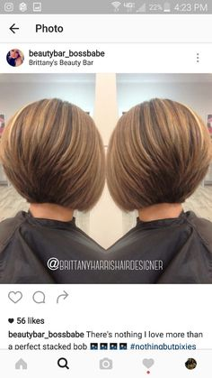 bob hairstyles for fine hair Haarschnitt-Ideen Wrapping wedding favors is Angled Bob Haircuts, Inverted Bob Hairstyles, Short Hairstyles For Thick Hair, Short Hair With Layers, Short Hair Cuts, Short Hair Styles, Hairstyles Videos, Ponytail Hairstyles, Wedding Hairstyles
