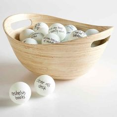 Write the name of a bunch of different chores on Ping-Pong balls and set a timer, maybe for half an hour. Each time the chore on the ball is complete, they pick a new one, and the kid with the most balls at the end wins. The fabulous prize is entirely up to you.