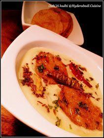 Hyderabadi Cuisine: Dahi ki kadhi