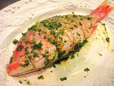 ... Red Snapper on Pinterest | Red snapper, Red snapper recipes and