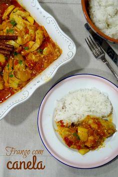 Ponto de Rebuçado Receitas: Dia Um... Na Cozinha! com um Frango com Canela